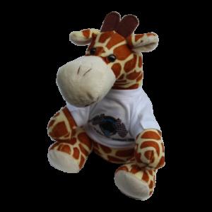 Giraffe mit Shirt